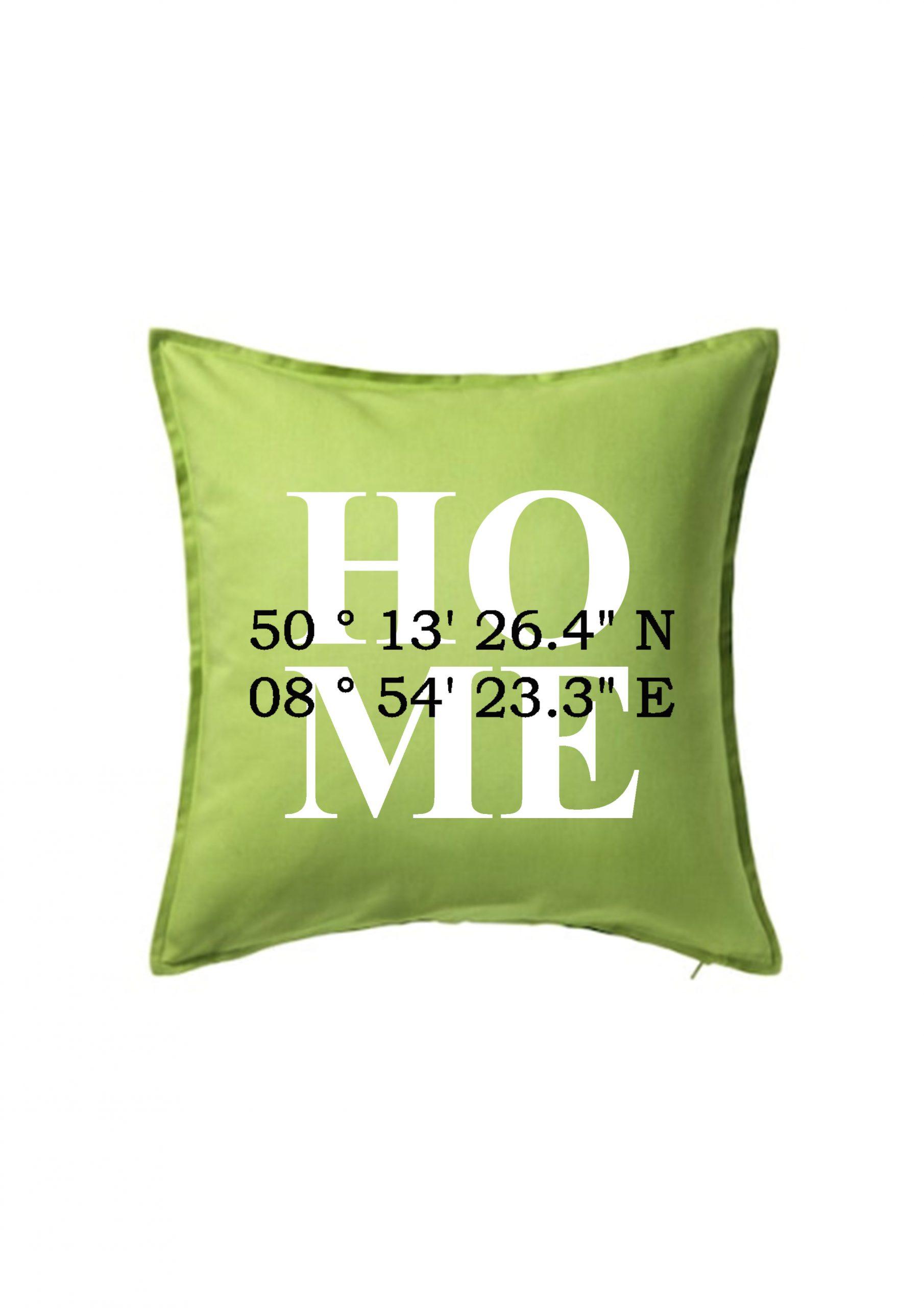 Kissenhülle Home grün